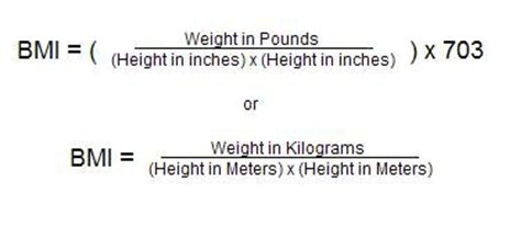 what is your Body Mass Index (BMI) formula